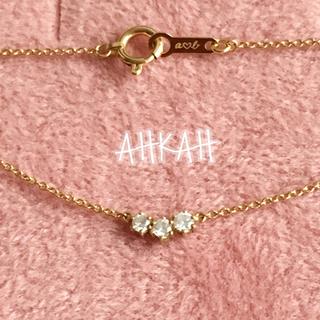 アーカー(AHKAH)の【smile様専用】 アーカー ダイヤ ネックレス k18 ポルトダイヤ (ネックレス)