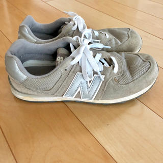 aa01ee298af59d ニューバランス(New Balance)のニューバランス574 グレー24.5センチ (値下げしました!