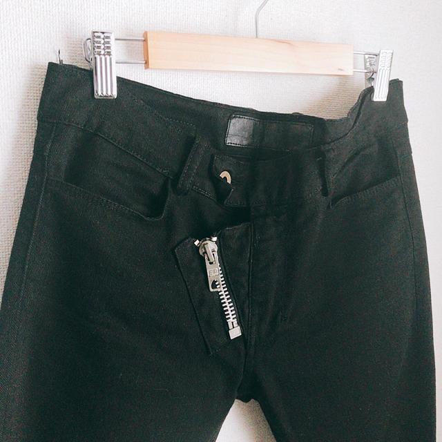 LAD MUSICIAN(ラッドミュージシャン)のApril77 ZIpスキニーデニム 古着 DADA ladmusician  メンズのパンツ(デニム/ジーンズ)の商品写真