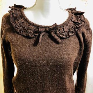 ピンクハウス(PINK HOUSE)のピンクハウス❤️襟元可愛いセーター(ニット/セーター)