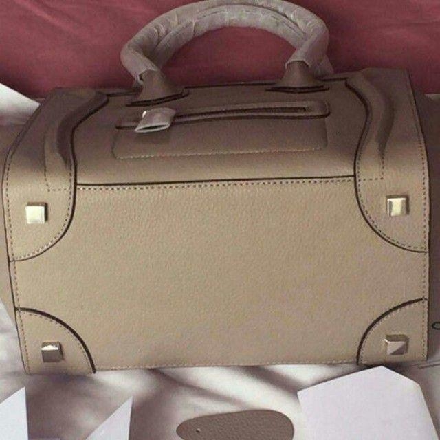 a76b2f820c07 celine(セリーヌ)のセリーヌラゲージ マイクロサイズグレージュ色 レディースのバッグ(トート