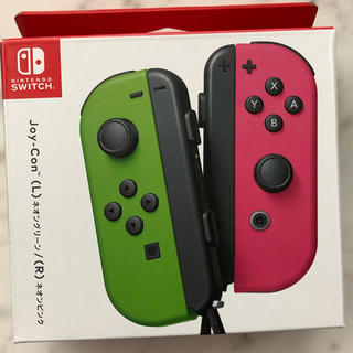 Nintendo Switch - スイッチ ジョイコン Joy-Con(L) ネオングリーン/(R) ネオンピンク