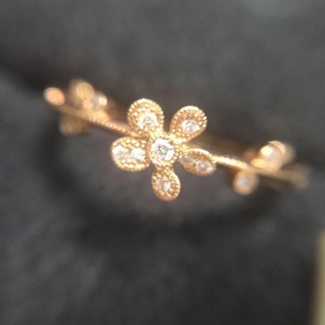 agete(アガット)の専用 Yoshinob ダイヤリング ヨシノブ レディースのアクセサリー(リング(指輪))の商品写真