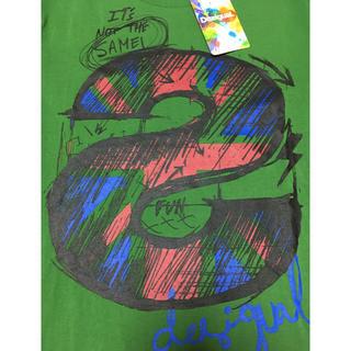 デシグアル(DESIGUAL)の【期間限定値下げ‼️】デシグアル 【新品】Tシャツ  Sサイズ(Tシャツ/カットソー(半袖/袖なし))
