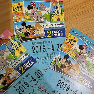 ディズニー(Disney)のディズニー リゾートライン 2days 3枚(鉄道乗車券)