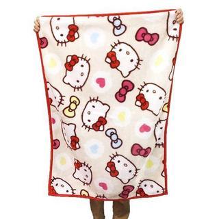 新品♡キティお昼寝ケット♡お昼寝毛布 85×115cm ベビー毛布
