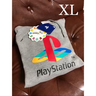 しまむら - しまむら Play Station パーカー LL XL グレー 灰