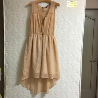 ザラ(ZARA)のZara ワンピース 結婚式(ミディアムドレス)