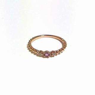 サマンサティアラ(Samantha Tiara)のk18  サマンサ ティアラ リング 4号(リング(指輪))