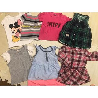 14c6c7b484620 ベビーギャップ(babyGAP)の女の子80cm まとめ babyGap OLDNAVY SHIPS (Tシャツ)