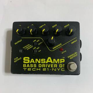 SANSAMP BASS DRIVER DI(ベースエフェクター)