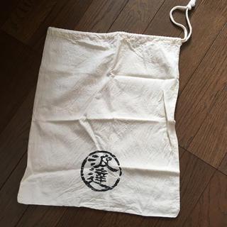 波達 なみたつ カバン 袋 ナップサック エコバッグ 巾着(エコバッグ)