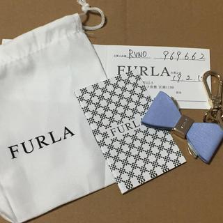 7a55a9e66e74 Furla - フルラ クマフラージュ キーリング ブロガーの通販|ラクマ