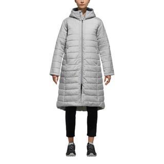 アディダス(adidas)の新品 ★ アディダス レディース ベンチコート S EYU96 グレー(ロングコート)