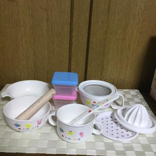 ミキハウス離乳食セット(離乳食器セット)
