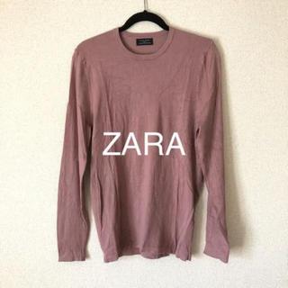 ザラ(ZARA)のZARA ニット 未使用 ピンクベージュ(ニット/セーター)