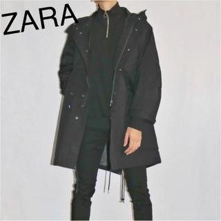 ザラ(ZARA)のZARA ハーフジップ  薄手ニット 未使用(ニット/セーター)