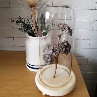 フラワーポット♡(ドライフラワー付き) 花瓶(花瓶)
