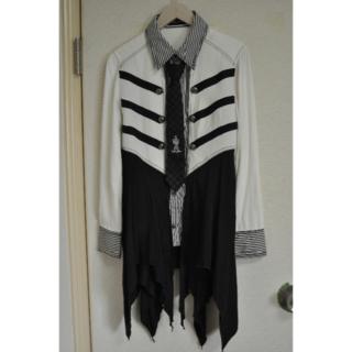 アルゴンキン(ALGONQUINS)のネクタイ付ブラウスインデザインフレアジャケット(その他)