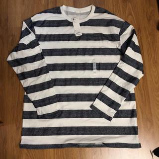 ジーユー(GU)のGU ロンT タグ付き 1490円の品(Tシャツ/カットソー(七分/長袖))