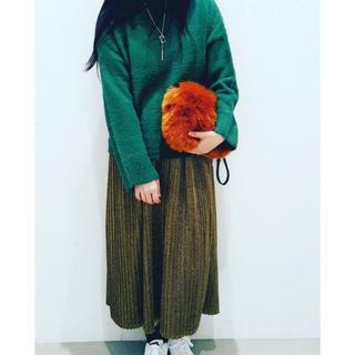 アイアムアイ(I am I)のkoe ゴールドラメプリーツスカート(ロングスカート)