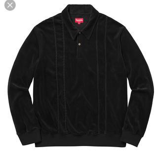 シュプリーム(Supreme)のSupreme Velour polo Shirt(ポロシャツ)