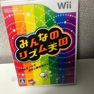 ウィー(Wii)のみんなのリズム天国(家庭用ゲームソフト)