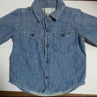 ギャップ(GAP)のGAP子供用デニムシャツ(シャツ/カットソー)