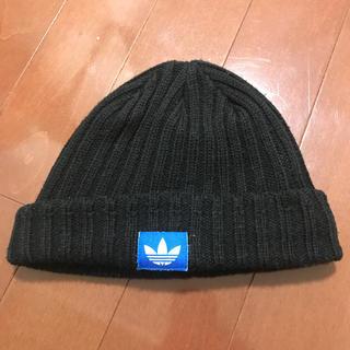 アディダス(adidas)のアディダスオリジナルスニット帽(ニット帽/ビーニー)