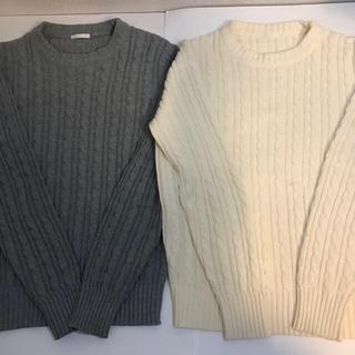 ジーユー(GU)のGU ニット セーター (5セット)メンズ(ニット/セーター)