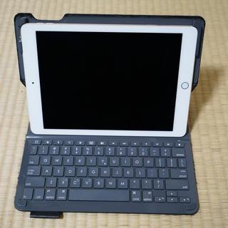 Apple - iPad Air2 Cellular 128GB Gold + キーボードケース