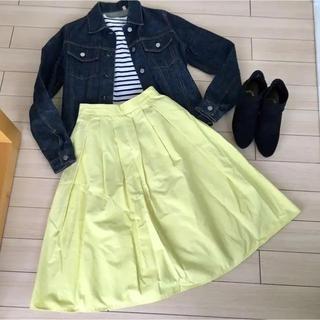 ジーユー(GU)のGU スカート S(ひざ丈スカート)