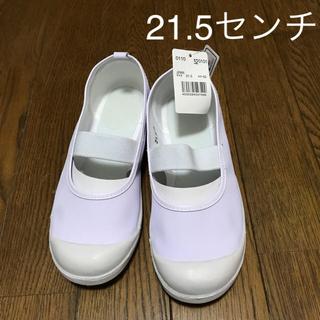 【新品未使用】上靴  21.5センチ(スクールシューズ/上履き)
