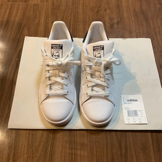 アディダス(adidas)のadidas  スタンスミス ホワイト ネイビー 23cm(スニーカー)
