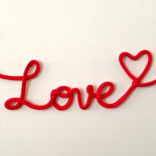 運命の 赤い糸 LOVE(ウェルカムボード)