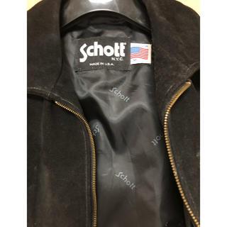 ショット(schott)のショット schott  本革ベスト(ライダースジャケット)