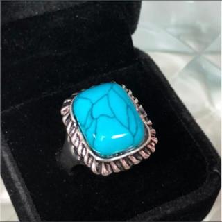 天然石 ターコイズ 22号 リング 指輪(リング(指輪))