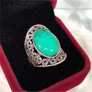 天然石 ターコイズ 15号 リング 指輪(リング(指輪))