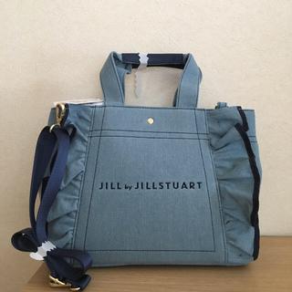 JILL by JILLSTUART - 🎀新品ジルバイジルスチュアートフリルキャンバストート