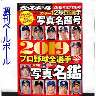 【週刊ベースボール】2019カラー写真名鑑号(趣味/スポーツ)