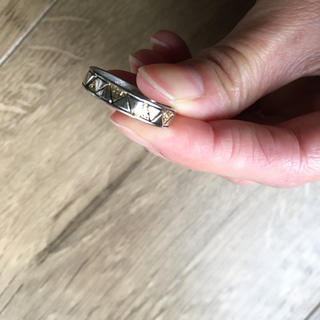 グースィー(goocy)のgoocy▲三角デザインリング指輪△(リング(指輪))