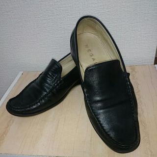リーガル(REGAL)の【激安】メンズ革靴、メンズ25・5㎝ REGAL 中古(デッキシューズ)