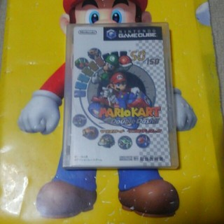 ニンテンドーゲームキューブ(ニンテンドーゲームキューブ)のマリオカート ダブルダッシュ(家庭用ゲームソフト)
