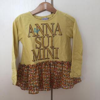 アナスイミニ(ANNA SUI mini)のアナスイミニ  長袖Tシャツ 110 (Tシャツ/カットソー)