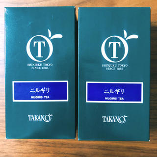 新宿高野 ニルギリ紅茶 2箱セット(茶)