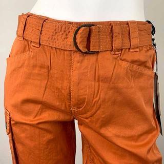 アラミス(Aramis)のARAMIS(アラミス) 鮮やか渋めオレンジ軽やかデザイン7分丈パンツ(ハーフパンツ)