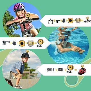 【新品】子供カメラ デジタルカメラ  16G容量SDカード付 (イエロー)(コンパクトデジタルカメラ)