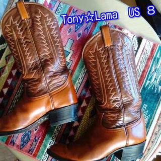 トニーラマ(Tony Lama)のトニー☆ラマ ウェスタンブーツ 6210 US 8 JP26cm(ブーツ)