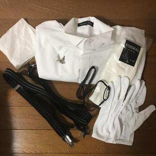 結婚式☆新郎小物セット(サスペンダー)