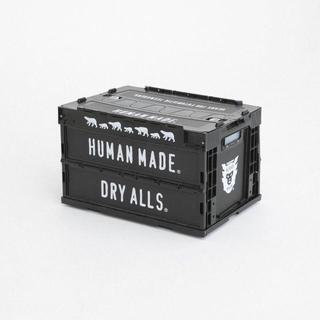 ジーディーシー(GDC)のヒューマンメイド 50L コンテナ 新品 NIGO ブラック 送料込(ケース/ボックス)